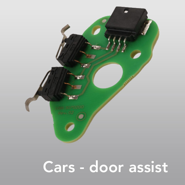 Appliation examples Cars - door-assist
