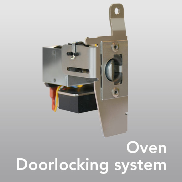 Application examples Oven Doorlocking-system