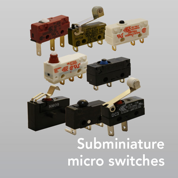 switch it - Products - Subminiature microswitches